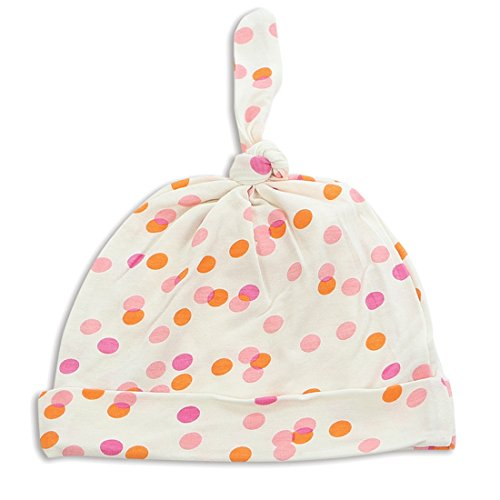 Silkberry Baby Bamboo Knot Hat Confetti Sprinkles 0-6m