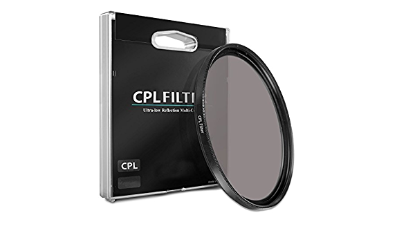 77mm CPL Circular Polarizer Camera Lens Filter for Canon EF 24-105mm f//4L is II USM