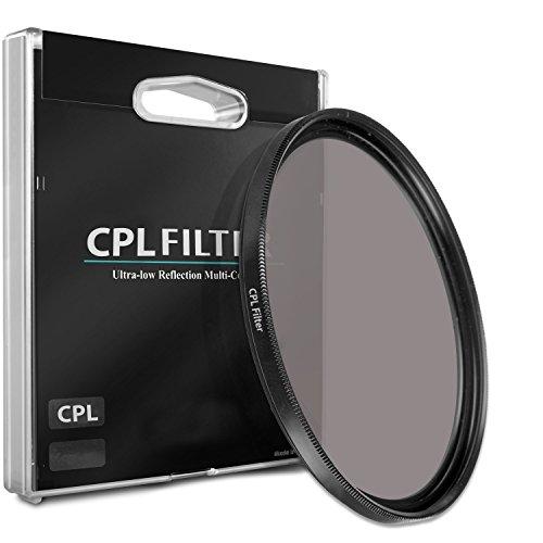 62mm CPL Circular Polarizer Filter for Sony 90mm f/2.8 Macro G OSS Lens -  Commander Elite Optics, 33RD-CPLFILTERX195