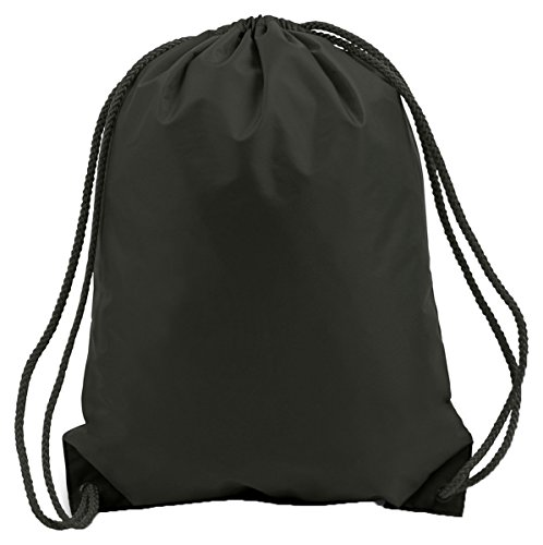 Liberty Bags Small Drawstring Backpack, Black, OS [Apparel]