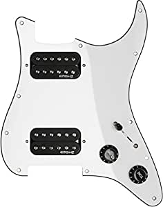 emg st 12 sro dual humbucker prewired pickguard white musical instruments. Black Bedroom Furniture Sets. Home Design Ideas