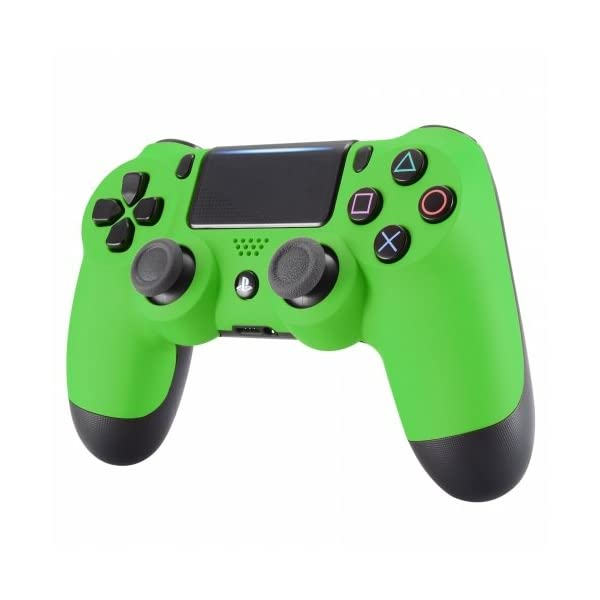PS4 Dualshock Playstation 4 Wireless Controller Custom Soft Touch New Model (Green) 3