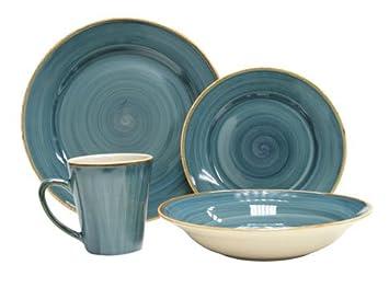 Thomson Pottery Pacific 16 Piece Dinnerware Set Service For 4  sc 1 st  Amazon.com & Amazon.com | Thomson Pottery Pacific 16 Piece Dinnerware Set Service ...