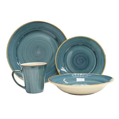 sc 1 st  Amazon.com & Rustic Stoneware Dinnerware: Amazon.com