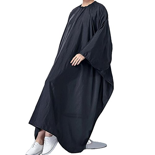 hair-salon-cape-waterproof-hair-cutting-apron-barber-bibs-black