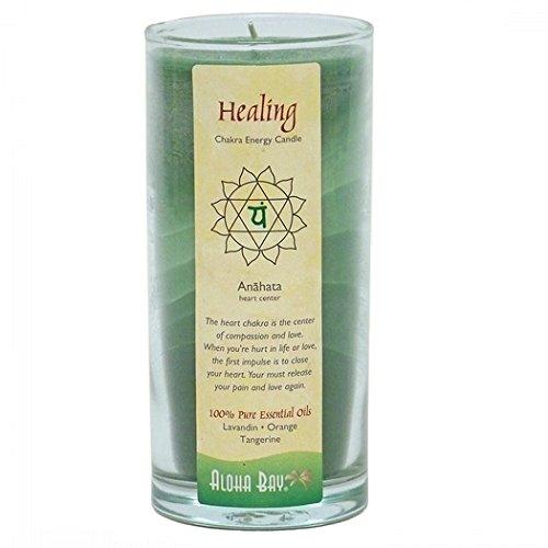 Aloha Bay Chakra Candle Jar, Healing - Herb Candle