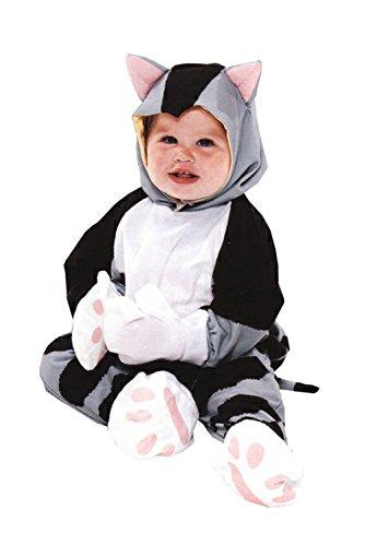 [Little Golden Books Shy Little Kitten Costume, Gray, 12 - 18 Months] (Toddler Grey Kitten Girls Costumes)