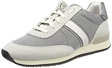 Hugo Adrienne-f, Women's Low-Top Sneakers, Beige (Natural), 8 UK (41 EU)