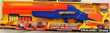 Buzz Bee Double Shot Brand New Style With Darts & Shells