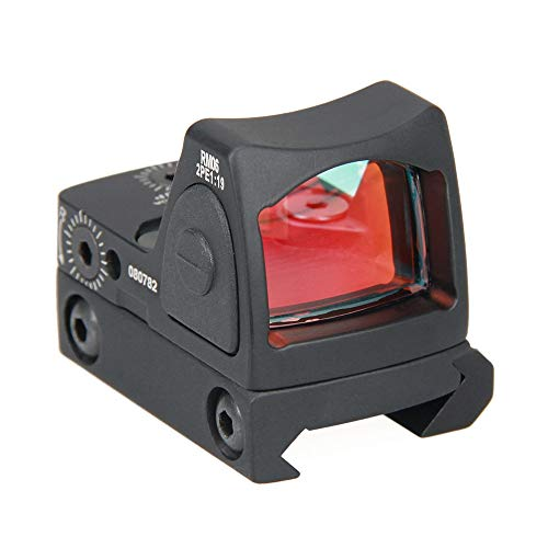 Tactical RMR Red Dot Sight 2 MOA Adjustable Reflex Sight Pistol Scope 20mm Mount Pistol Handgun Shunting Red Dot