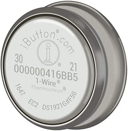 85°C #DS1921G-F5# 40°C to iButton Thermochron