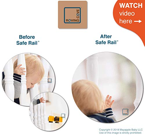 Roving Cove Railing Safety Net Baby Safety Banister