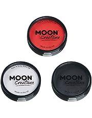 Moon Creations - Profesjonalna farba do twarzy aktywowana wodą – zestaw 3 kolorów