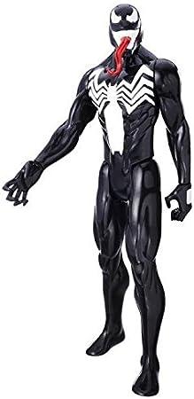 Hasbro Spider-Man Titan Hero Villains Venom 1pieza(s) Negro, Rojo, Blanco Niño/niña - Figuras de Juguete para niños (Negro, Rojo, Blanco, 4 año(s), Niño/niña, Acción / Aventura, 300 mm, 1 Pieza(s))