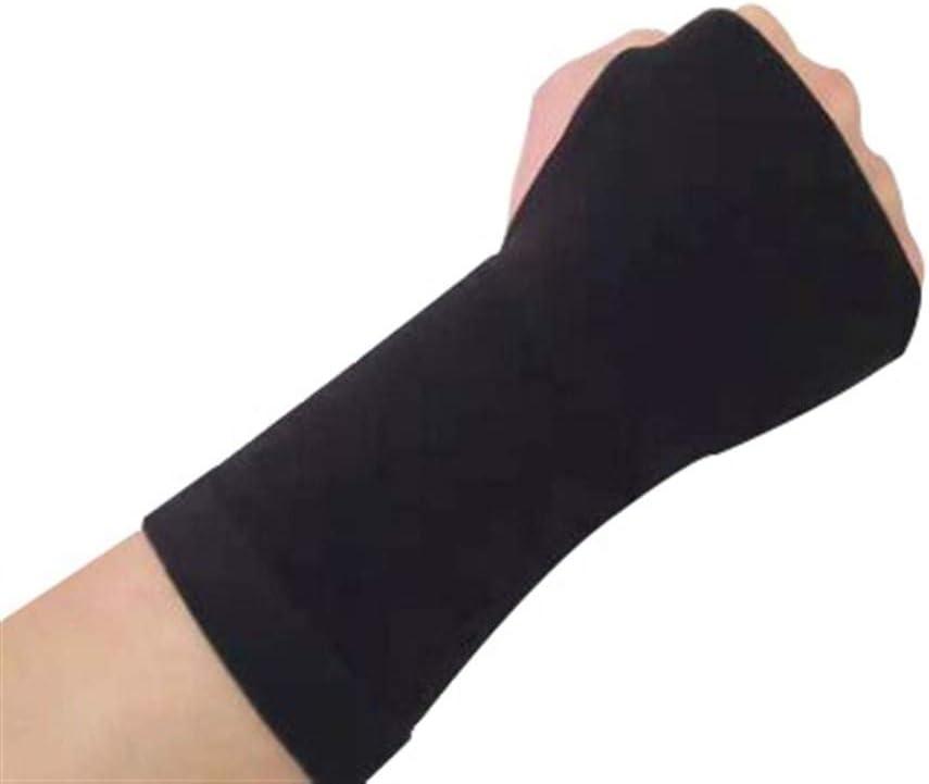 Color : Black, Size : S Unbekannt Karpaltunnel-Handgelenk-Klammer-Compression Handgelenk St/ützh/ülse Gesundheit Sport Fitness Handschutz Armband Schwarz//Haut