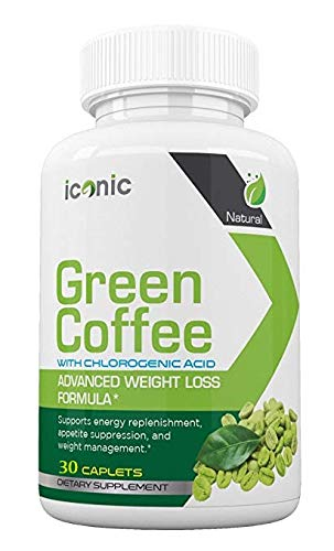 Iconic Green Coffee- Complete Premium Weight Management Formula-Natural and Potent Weight Loss Pills