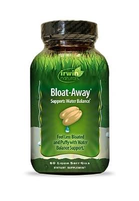 Irwin Naturals Bloat, Away, 60 Count