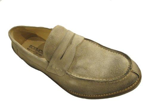 Boemos Heren Italiaanse Distressed Suede Lederen Slip Op Loafer 4113 Schoenen