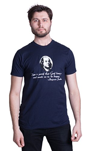 Beer is Proof that God Loves Us - Ben Franklin | Homebrew Lover Unisex T-shirt