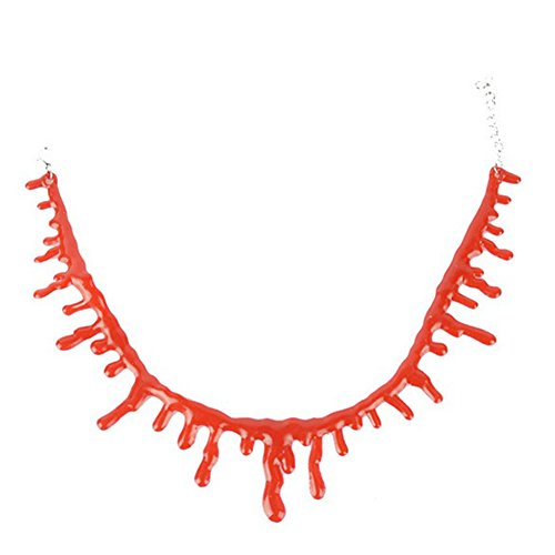 Da.Wa Halloween Costumes Halloween Necklace Vampire Blood Choker Necklace Scary Halloween Party Decorations Gifts