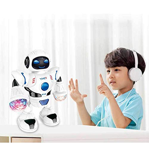 [해외]Etuoji Toddler Multifunctional LED Smart Robot Dance Music Kids Education Toys Robotics / Etuoji Toddler Multifunctional LED Smart Robot Dance Music Kids Education Toys Robotics