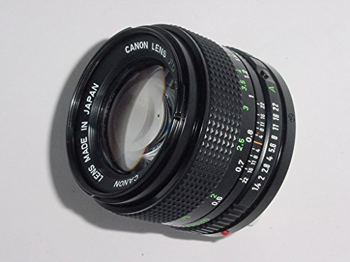- Canon 50mm f/1.4 FD Manual Focus Lens