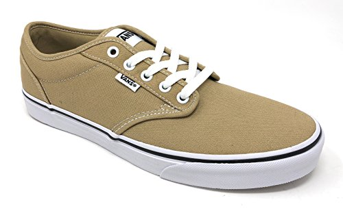 Vans Men's Atwood (Canvas) Cornstalk/White Skate Shoe 9.5 Men US
