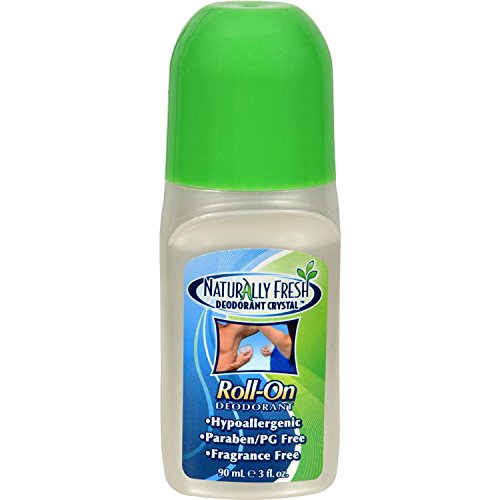 - Naturally Fresh Crystal Roll-On Deodorant, 3 ounce (12 Pack)
