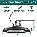 LED High Bay 150W 19500 Lumens 5000K Replaces 600W