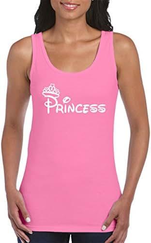 CAMALEN Most Popular Princess Fashion Design Women's Tank Top Shirt for Women