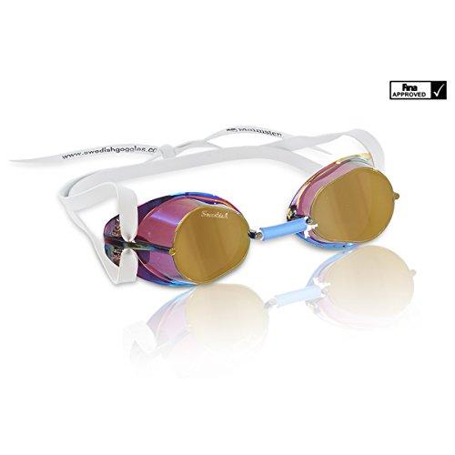 Original Swedish Goggle - Swedish Goggles Original Metallic Monterbara (Gold Metallic)
