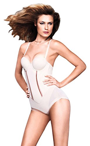 Maidenform Easy-Up Strapless Body Briefer_Latte (Strapless Body Briefers)