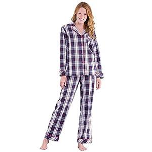 PajamaGram Womens Pajama Sets Flannel – Cozy Ladies Pajamas