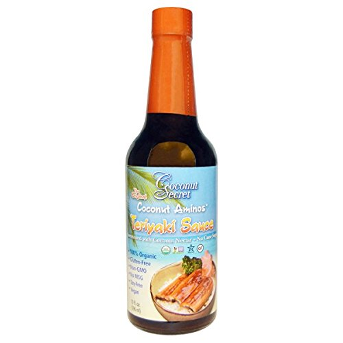 Coconut Secret, Teriyaki Sauce, Coconut Aminos, 10 fl oz ...