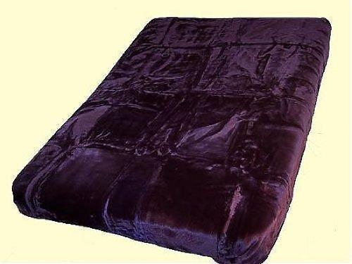 Solaron King Solid Color Korean Mink Blanket - ()