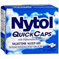 Special pack of 5 NYTOL SLEEP AID 32 Caplets