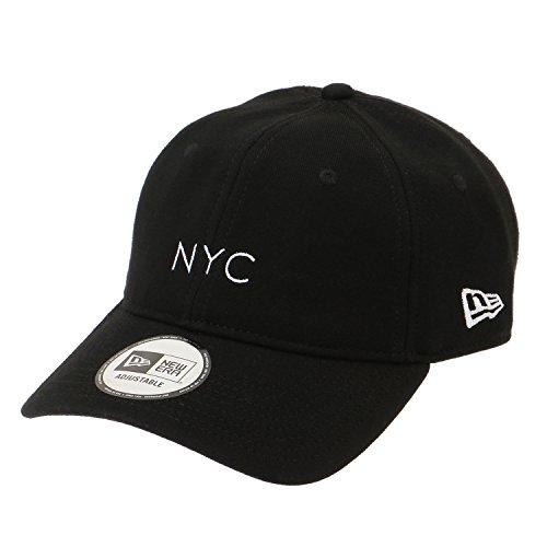 (ニューエラ) NEW ERA キャップ ストラップバック 9THIRTY スウェット NYC ブラック FREE (サイズ調整可能)