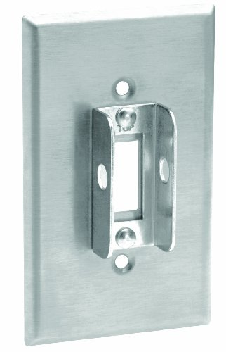 Leviton 84001 LOK Stainless Wallplate Tamper Resistant