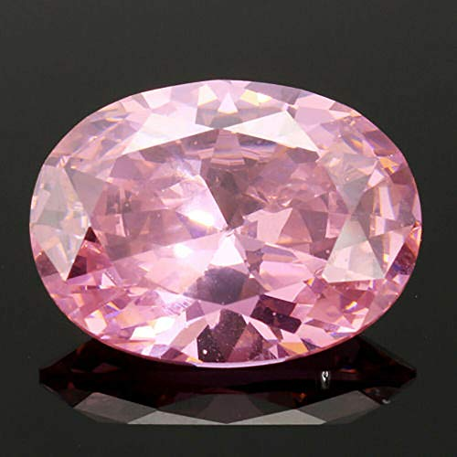HS store 13.89CT Pigeon Blood Ruby UNHEATED RED Pink Diamond Oval Cut VVS Loose GEMS (Pink (1pc, ()