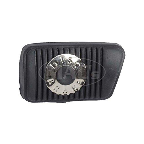 Brake Manual Disc Mustang - MACs Auto Parts 44-38340 - Mustang Disc Brake Pedal Pad for Manual Transmission