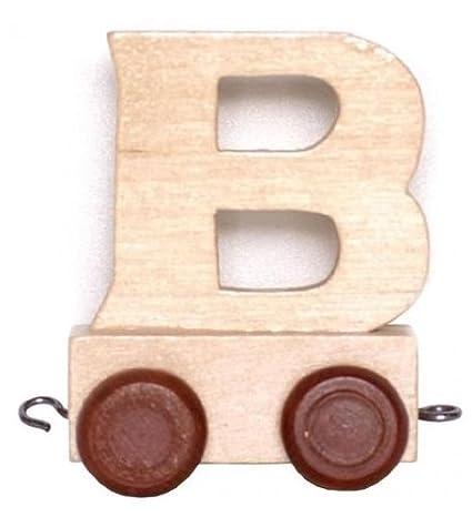 Letras Tren–Nombre Tren–Un Regalo Ideal para nacimiento, cumpleaños, material escolar uvm. B Small Foot Design