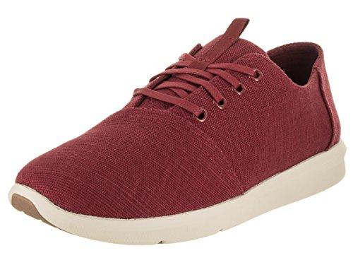 TOMS Men's Del Rey Henna Red Casual Shoe 11 Men - Mens Toms