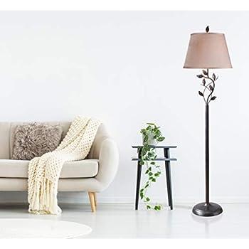 Kenroy Home 32240ORB Ashlen Floor Lamp 59 Inch Height, 15 Inch Diameter Oil Rubbed Bronze Finish
