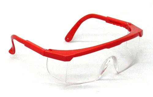 SEOH Red Frame Safety Glasses
