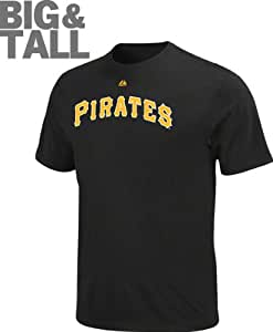 Pittsburgh Pirates Big & Tall Official Wordmark T-Shirt