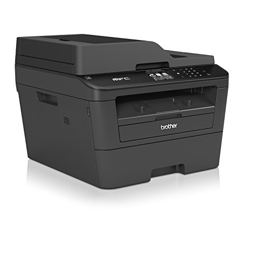 Brother MFCL2740DW Wireless Monochrome Printer with Scanner, Copier and Fax, Amazon Dash Replenishment Enabled