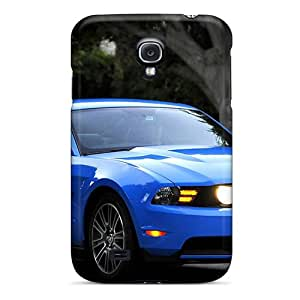 New Premium Flip Case Cover Ford Mustang Gt Skin Case For Galaxy S4