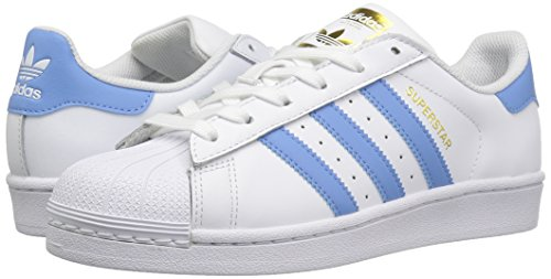 Adidas Sneakers Whiteblue Basses Femme W Superstar 66AxwCpqZ