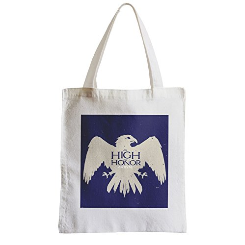 Große Tasche Sack Einkaufsbummel Strand Schüler Game Of Thrones Haus Arryn Britannien 7