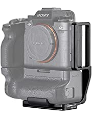 SUNWAYFOTO PSL-a1G L Bracket for Sony a1 with Vattery Grip VG-C4EM Quick Release Plate Arca Swiss RRS Compatible Accessories
